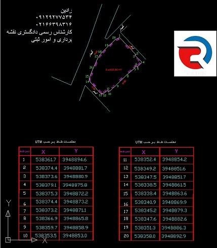 تهیه گواهی تایید موقعیت پلاک ثبتی با جانمایی پلاک ثبتی