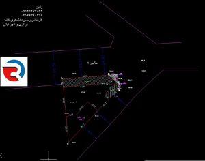 تهیه نقشه utm با کد ارتفاعی شهرداری در منطقه 22 تهران