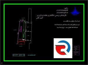 نقشه utm دوخطی برای ثبت و شهرداری در مناطق تهران